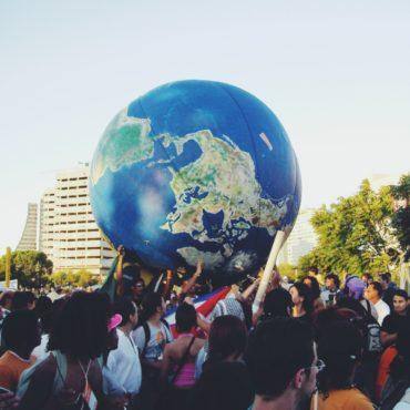 Demo beim Weltsozialforum in Porto Alegre 2003
