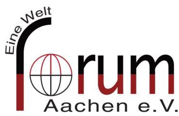 Logo des Eine Welt Forum Aachen e.V.