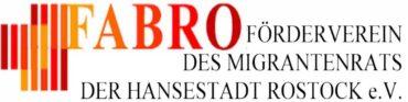 Logo des FABRO e.V. - Förderverein des Migrantenrats der Hansestadt Rostock