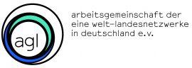 Logo der Arbeitsgemeinschaft für Eine Welt Landesnetzwerke in Deutschland e.V. (agl)