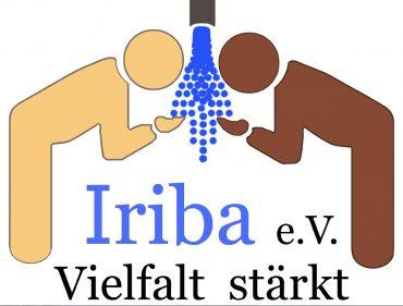 Logo des Vereins Iriba e.V. Vielfalt stärkt