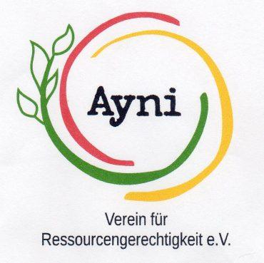 Logo von Ayni Verein für Ressourcengerechtigkeit e. V.