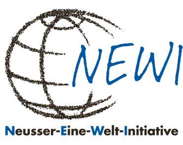 Logo des Vereins NEWI, Neusser Eine Welt Initiative e.V.