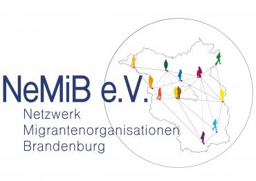 Logo von Netzwerk Migrantenorganisationen Brandenburg (NeMiB e.V.)